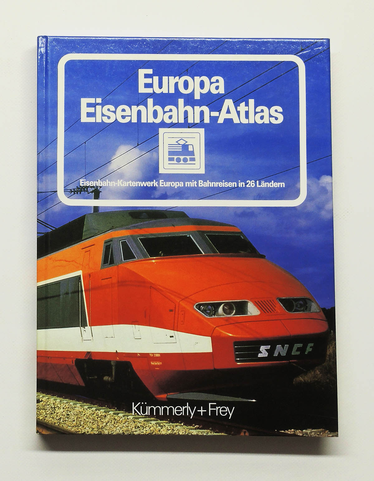 europa eisenbahn atlas eisenbahn kartenwerk mit bahnreisen in 26 l ndern 1983 ebay. Black Bedroom Furniture Sets. Home Design Ideas